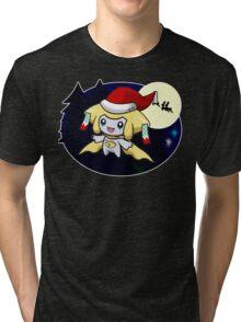 Sleepy Santa Tri-blend T-Shirt