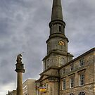 Mercat Cross and Guildhall by Tom Gomez