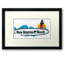 New Smyrna Beach - Florida. Framed Print