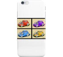 HOT ROD FOUR PACK CAR DESIGN iPhone Case/Skin