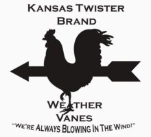 Kansas Twister Weather Vanes by Jhug