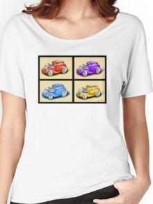 HOT ROD FOUR PACK CAR DESIGN Women's Relaxed Fit T-Shirt