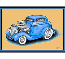 HOT ROD CAR DESIGN Photographic Print