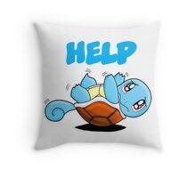Carapuce  Throw Pillow