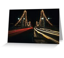 Chelsea Bridge Greeting Card