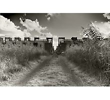 Dirt Track To Suburbia Photographic Print