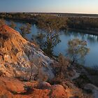 Murray River - Merbein Lookout by ShovellingSon