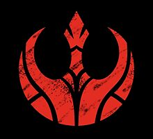 Rebels Segmented Logo (Black Background) by JoshBeck
