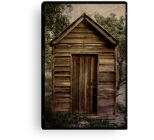 Little Shed Canvas Print