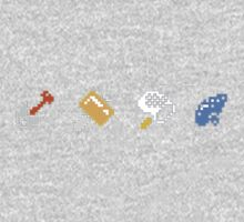 Zelda Icons Kids Clothes