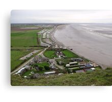 BREAN DOWN COVE WEST SOMERSET Canvas Print