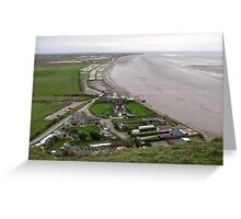 BREAN DOWN COVE WEST SOMERSET Greeting Card