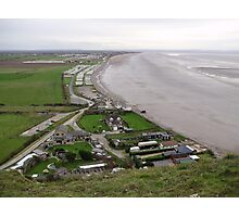 BREAN DOWN COVE WEST SOMERSET Photographic Print
