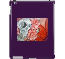 tattoo sugar skull graffiti art  iPad Case/Skin