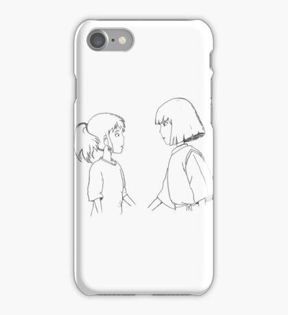 Haku + Chihiro iPhone Case/Skin