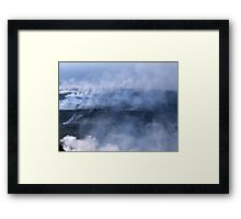 Where There's Smoke, There's Fire Framed Print