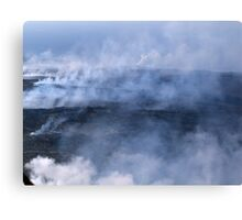 Where There's Smoke, There's Fire Canvas Print