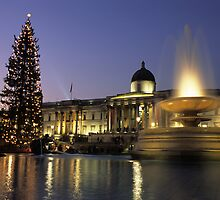 Merry Xmas from London! by Kasia Nowak