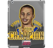 THREE POINT CHAMPION - Stephen Curry - SMILE DESIGN 2015 iPad Case/Skin