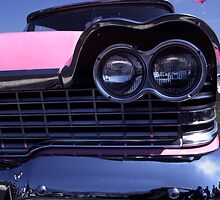 1959 Pink Plymouth Classic by Anna Lisa Yoder