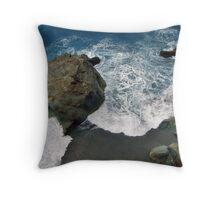 Huge Rock Throw Pillow