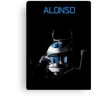 Fernando Alonso 2015 McLaren Honda Canvas Print