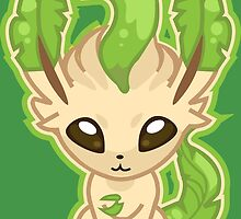 Leafeon by gizorge