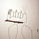 Petits Dessins Debiles - Small Weak Drawings#38 by Pascale Baud