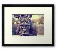 The Gargoyle Framed Print