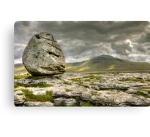 Ingleborough from Scales Moor Canvas Print