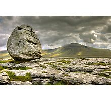 Ingleborough from Scales Moor Photographic Print