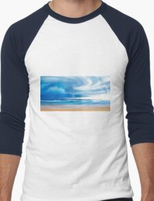 beach Breeze Men's Baseball ¾ T-Shirt