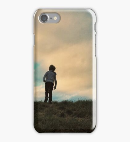 Uphill battle iPhone Case/Skin