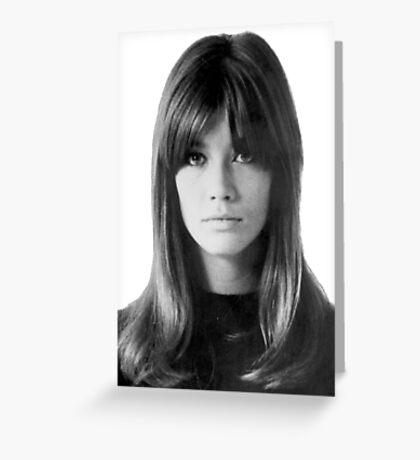 Françoise Hardy Greeting Card