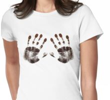 Lay Your Hands On Me Womens Fitted T-Shirt