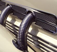 1937 Cord Phaeton Supercharger Pipes by Anna Lisa Yoder