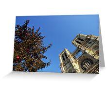 Xmas in Paris Greeting Card