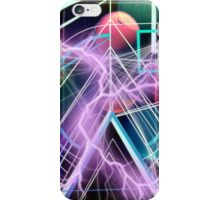 Inside the smallest particles of matter iPhone Case/Skin