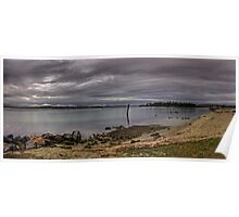 Storm over Lake Macquarie Poster