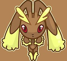Lopunny by gizorge