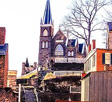 Harpers Ferry church  by myoung07