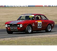 Red racer II Photographic Print