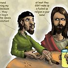 Jesus and Che by liquidnerve