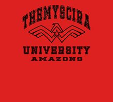 Themyscira University  Womens Fitted T-Shirt