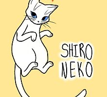 Shiro Neko by skywaker