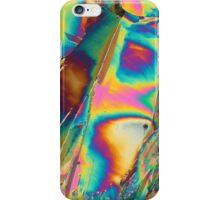 Holmium nitrate under the microscope iPhone Case/Skin