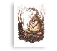Pagoda's Kinship Canvas Print