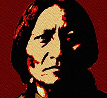 SITTING BULL-WARRIOR OF THE WASTELANDS by OTIS PORRITT