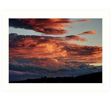 Kiama Skies Art Print