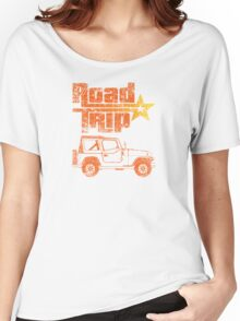 Road Trip in a Jeep Women's Relaxed Fit T-Shirt